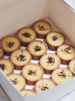 White Chocolate Passionfruit Tarts