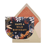 Wild Birthday card - Cakes. Sweets. Dessert Bars- Zee & Elle