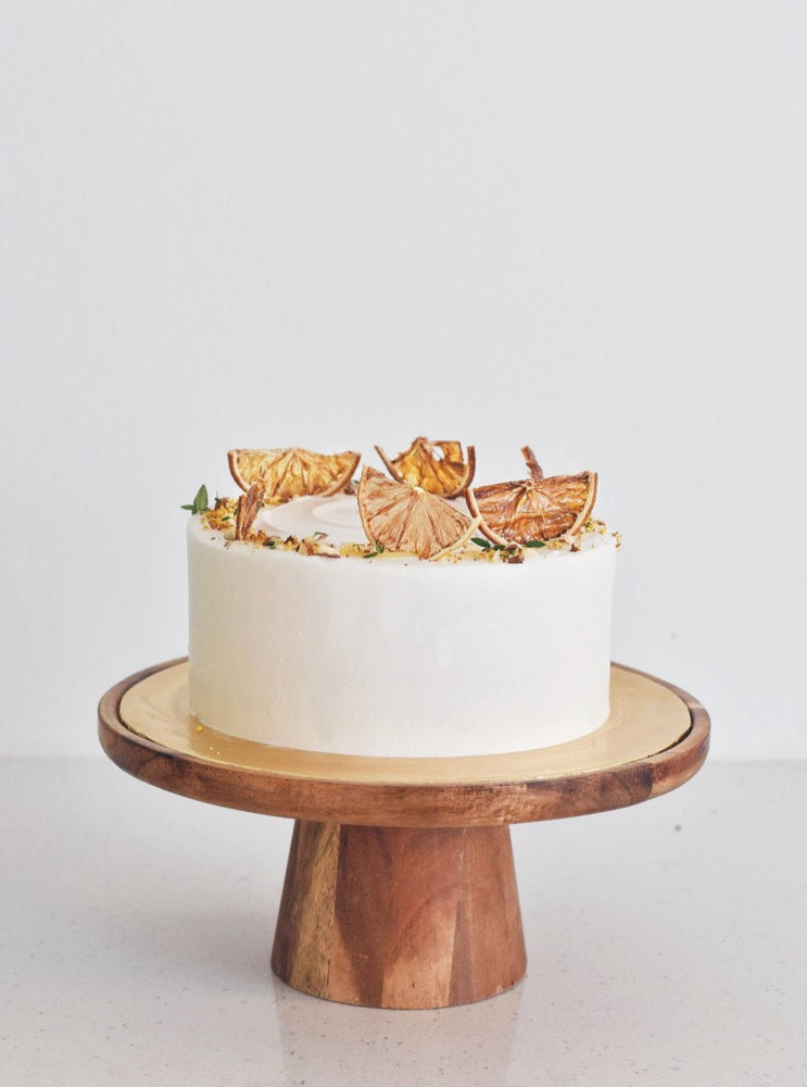 Honey Yuzu Fresh Cream Cake | Zee & Elle Singapore