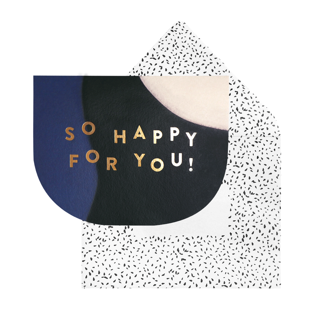 So Happy For You Card |  Cakes, Sweets, Dessert Bars - Zee & Elle