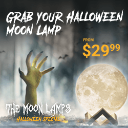 3D Moon Lamps for Perfect Halloween
