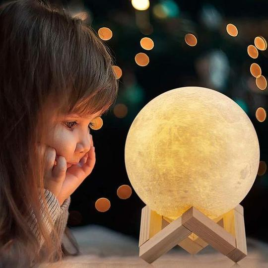Why is 3D Printed Moon Lamp the best gift for your child?