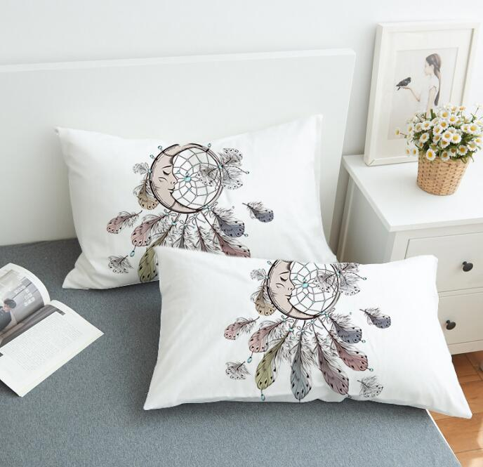 Moon Dreamcatcher Pillowcase