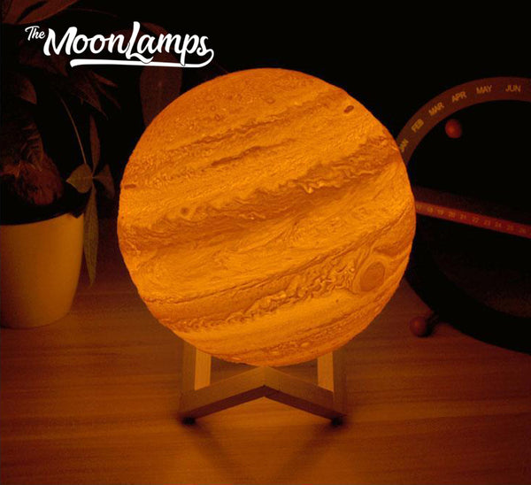 3D Printed Jupiter Lamp