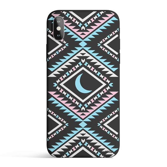 Aztec Moon - Colored Candy Phone Case iPhone