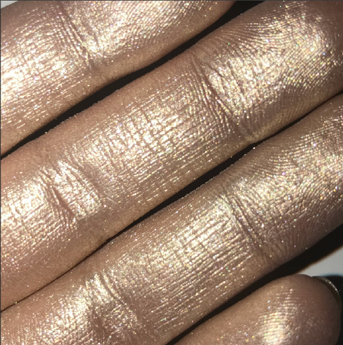 Champagne highlighter pressed AIM SPARKLE