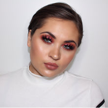 AIM Sparkle Sangria Red look