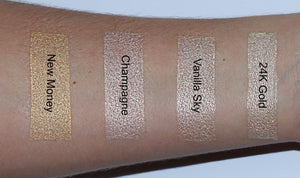 Champagne highlighter kleuren AIM SPARKLE