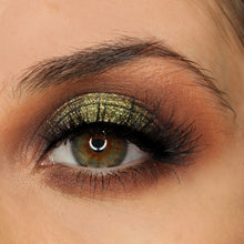 AIM Sparkle makeup Olive Green glitter