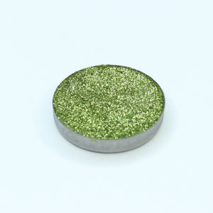AIM Sparkle Olive Green pressed glitter pan