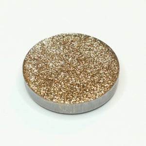 AIM Sparkle Platinum Gold pressed glitter