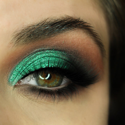 Emerald green glitters AIM Sparkle