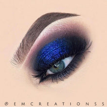 Indigo Blue loose glitter AIM Sparkle emcreationss