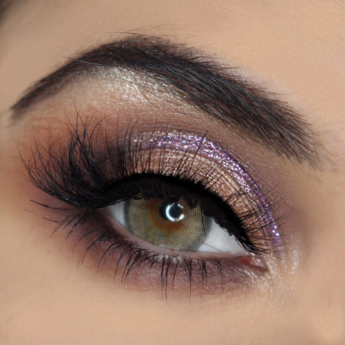Lavender pressed glitter AIM Sparkle close up