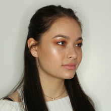 Klant met Peach Paradise highlighter AIM Sparkle