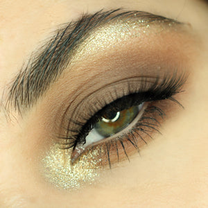 Platinum Gold glitter makeup foto AIM Sparkle