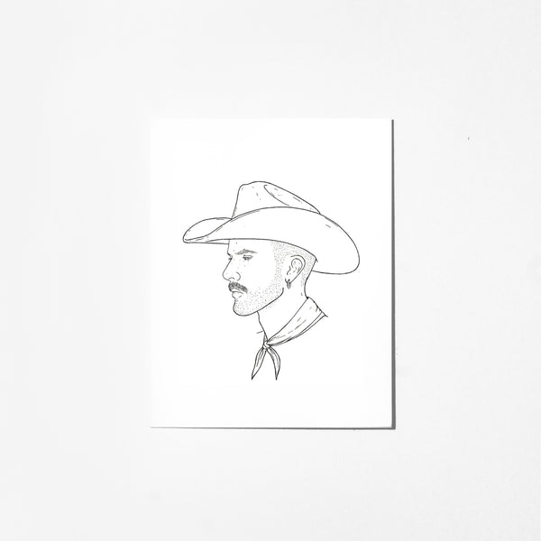 Loneranger - Greeting Card