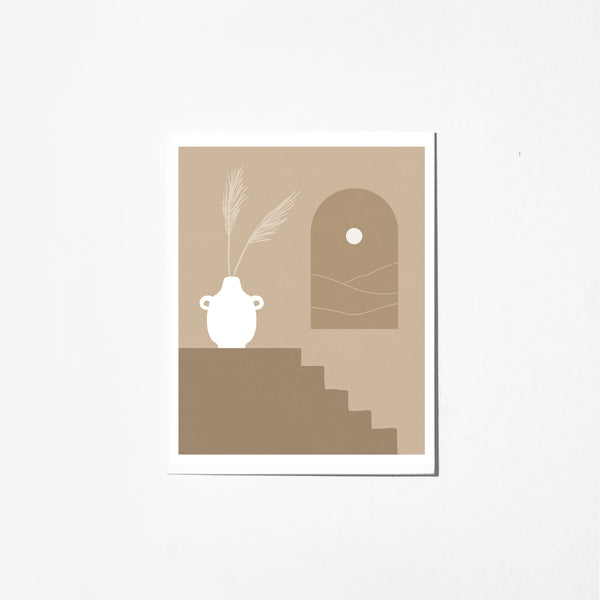 Desert Window - Greeting Card