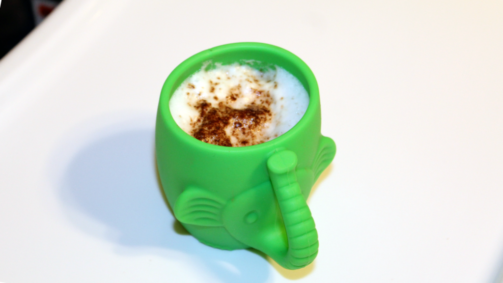 Goat Milk Babyccino Recipe for Toddlers with Cow Milk Sensitivity