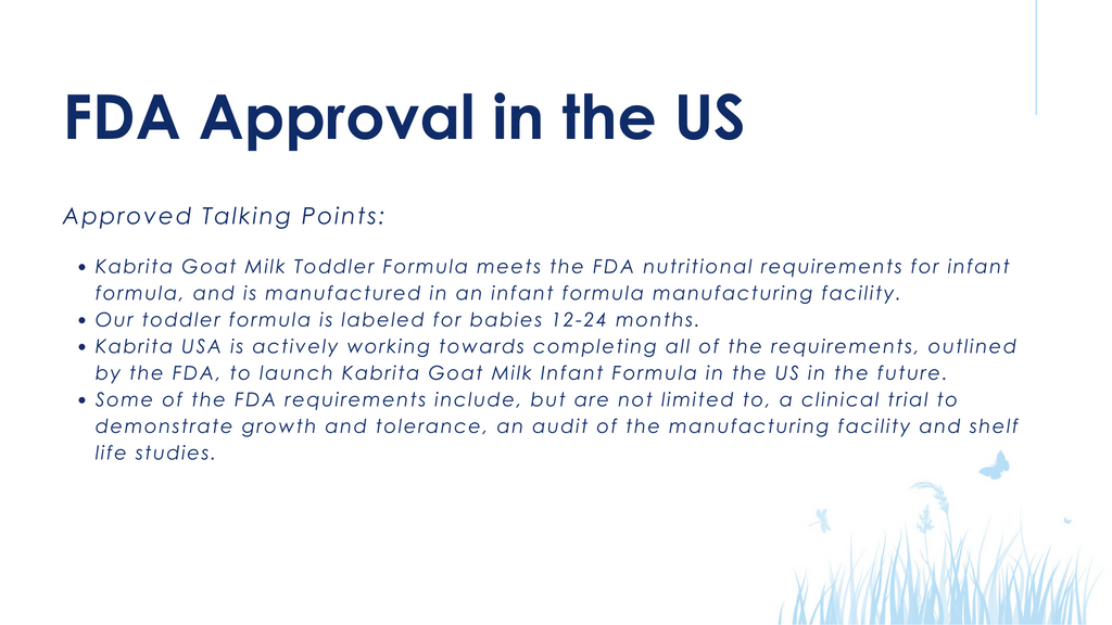 FDA Approval in the US
