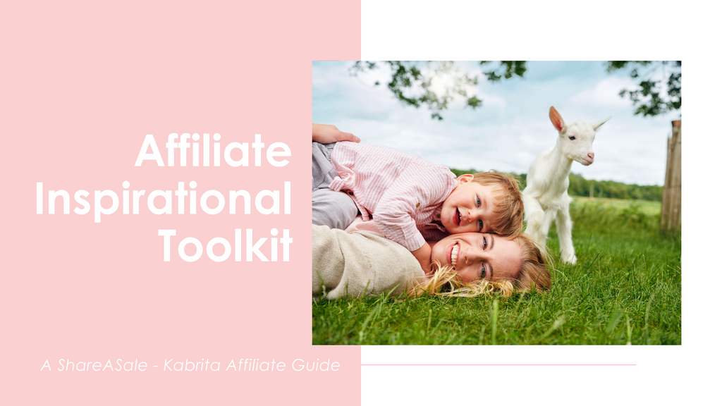Affiliate inspirational toolkit