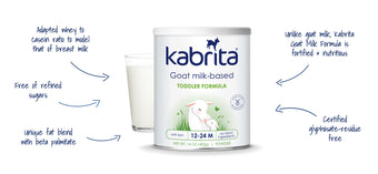 Kabrita Goat Milk-Based Formula: Our Benefits
