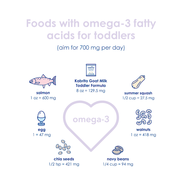 Foods with Omega-3 Fatty Acids for Toddlers