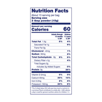 Kabrita Organic Goat Milk Porridge, Multigrain 7oz - Nutrition Facts
