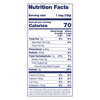 Kabrita Snack Puffs with Goat Cheese - Nutrition Facts
