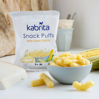 Kabrita Snack Puffs with Goat Cheese - Lifestyle