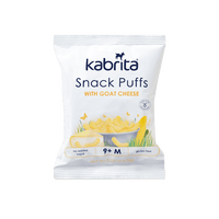 Kabrita Snack Puffs with Goat Cheese