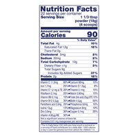 Kabrita Goat Milk Toddler Formula 14oz, Powder - Nutrition Facts