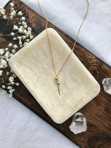 14K Gold Filled Bloom from Within Necklace