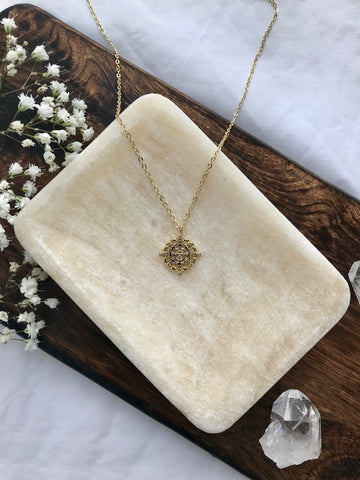 14K Gold Filled Follow Your Intuition Necklace
