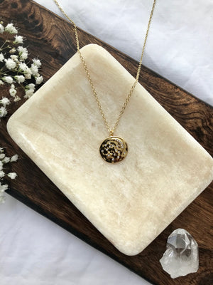 14K Gold Filled Moon Glow Necklace