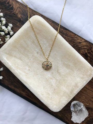 14K Gold Filled Stardust Necklace