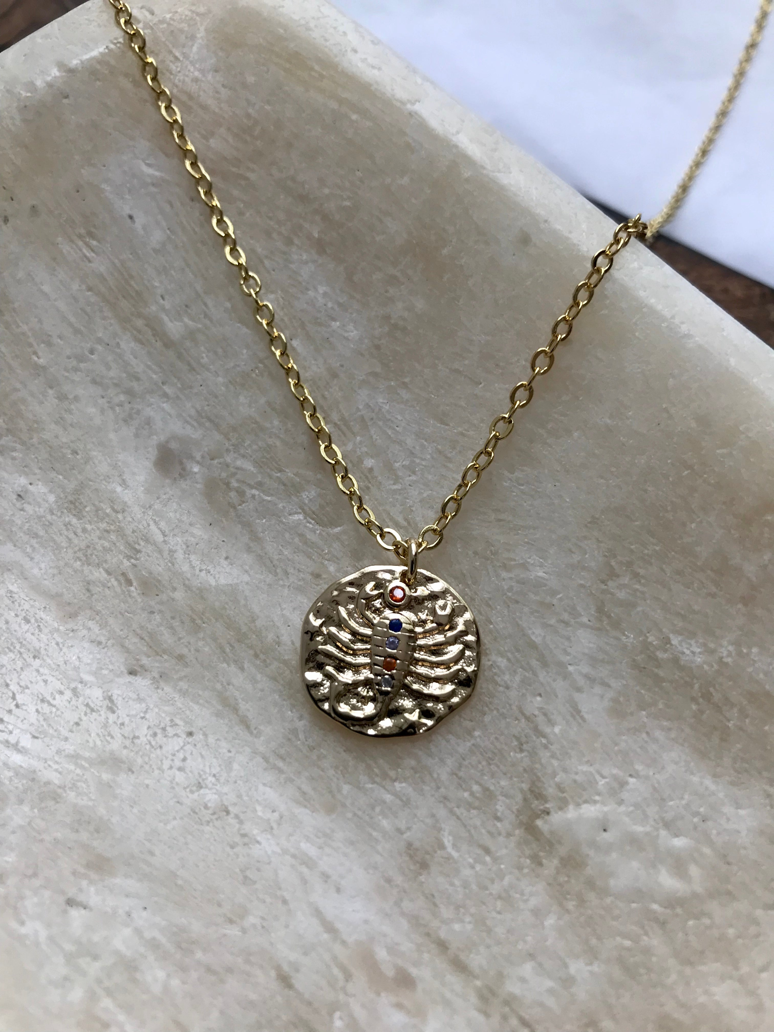 14K Gold Filled Zodiac Signs Necklace