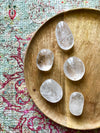 Clear Quartz Palm Stone