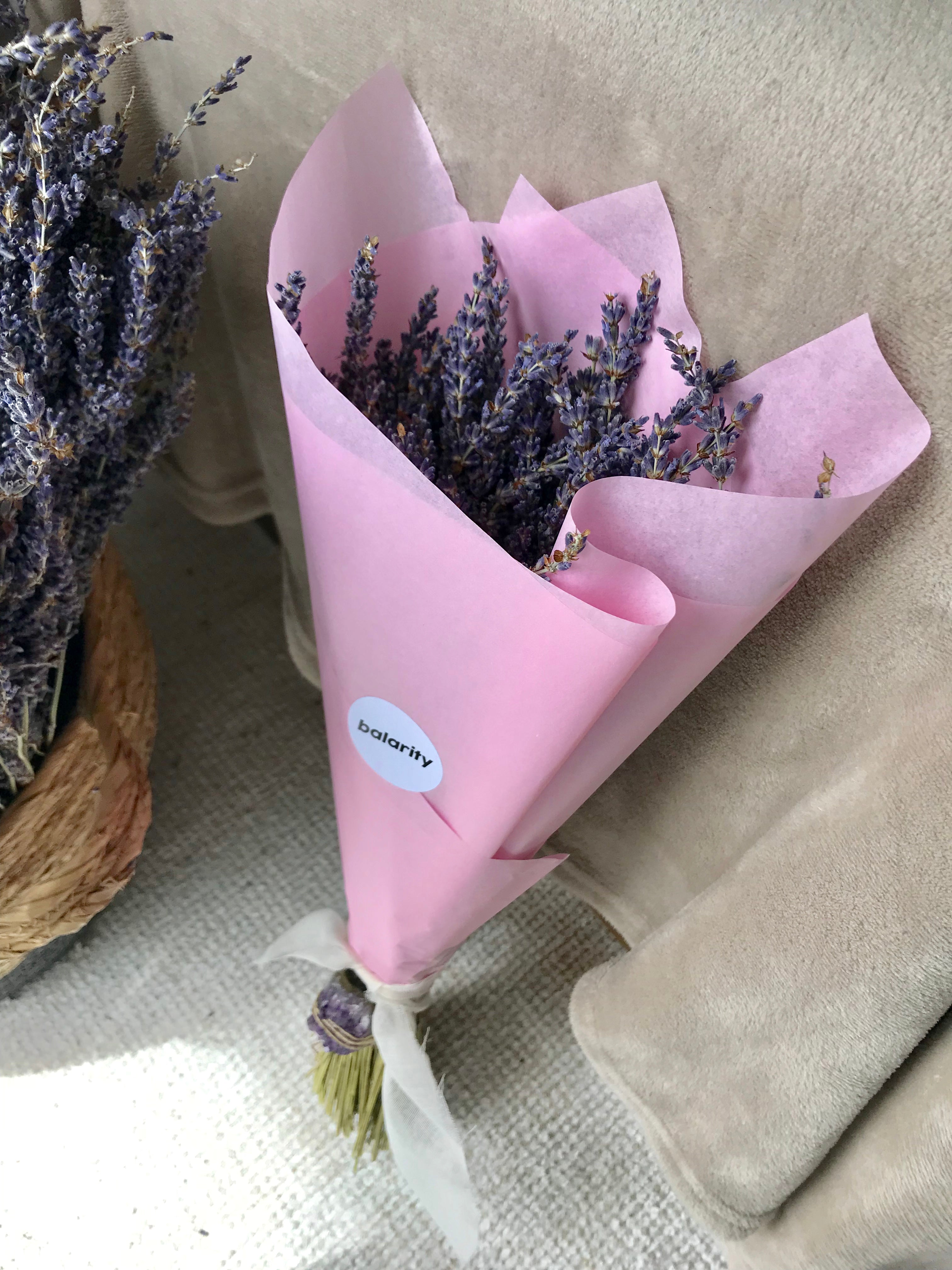 Dried Lavender Bunch - Limited Edition