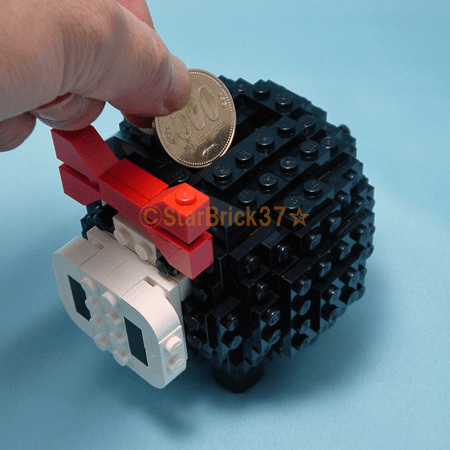 LEGO Pig Piggy Bank Works