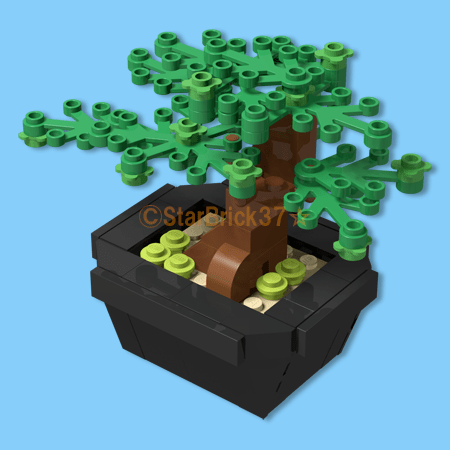 LEGO bonsai works that XNUM X