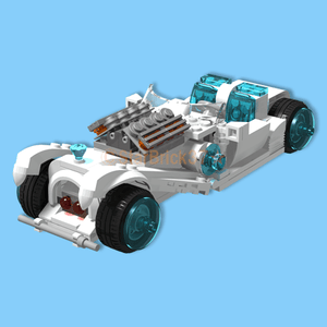LEGO (LEGO) how to make a cool original car