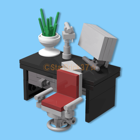 LEGO PC desk