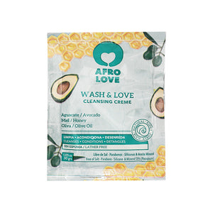 Afro Love Wash & Love Cleansing Cream (CoWash)