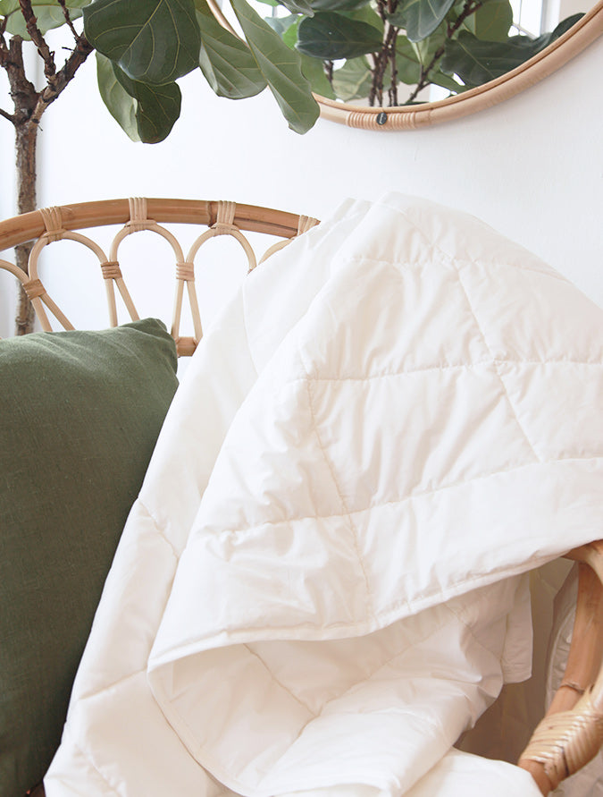Natural organic duvet by Heveya®