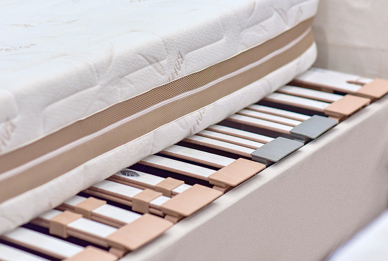 Slatted Bed Base promotes air circulation