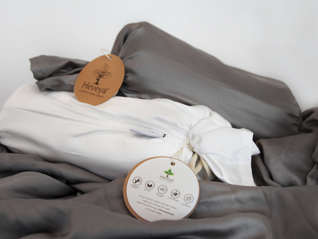 Heveya Bamboo Sheets Dream Package II