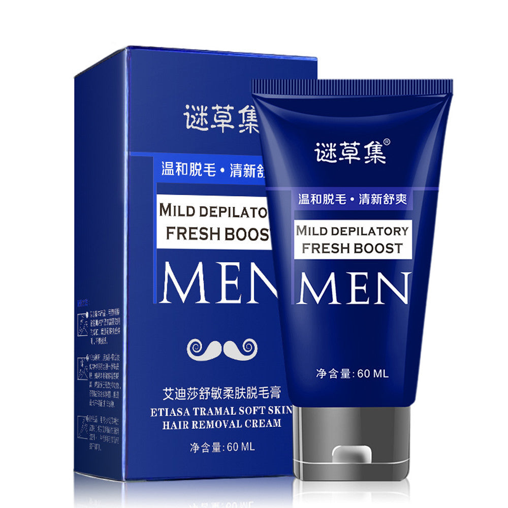 Man S Permanent Hand Leg Hair Loss Depilatory Hair Removal Cream Men W Vendors Multi Drop