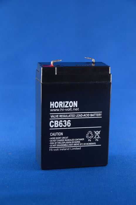6V 3.8AH SLA BATTERY from the Batteryworldshop.com