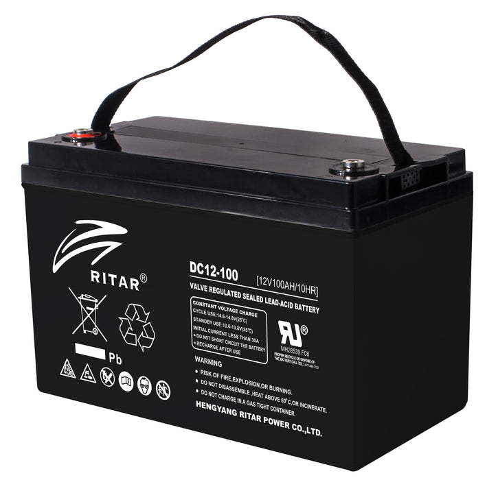 12 Volt 100Ah Sealed Lead Acid Battery